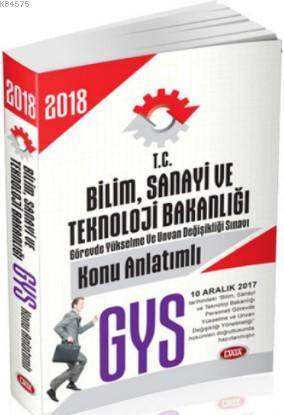 2018 GYS Bilim Sanayi Ve Teknoloji Bakanlığı Konu Anlatımlı