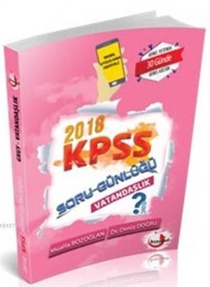 2018 KPSS Soru Günlüğü Vatandaşlık