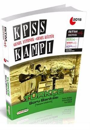 KPSS Kampı Genel Yetenek Genel Kültür Türkçe Soru Bankası