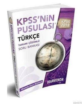 KPSS'nin Pusulası Türkçe Tamamı Çözümlü Soru Bankası