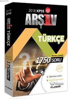 2018 KPSS Arşiv Türkçe Tamamı Çözümlü 1750 Soru Bankası