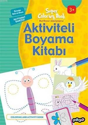 Aktiviteli Boyama Kitabı; Hayvanat Bahçesi