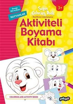 Aktiviteli Boyama Kitabı
