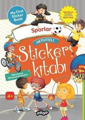 Aktiviteli Sticker Kitabı - Sporlar