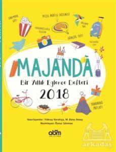 Majanda Bir Yıllık Eğlence Defteri 2018