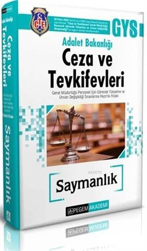 2018 Adalet Bakanlığı Ceza Ve Tevkifevleri Saymanlık Hazırlık Kitabı