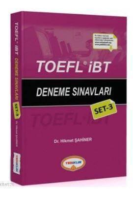 TOEFL İBT Deneme Sınavları Set 3