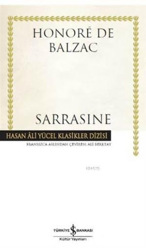 Sarrasine; Hasan Ali Yücel Klasik Dizisi