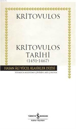 Kritovulos Tarihi (1451-1467)