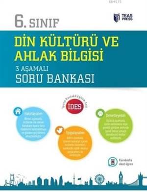 6.Sınıf Din Kültürü Ve Ahlak Bilgisi 3 Aşamalı Soru Bankası