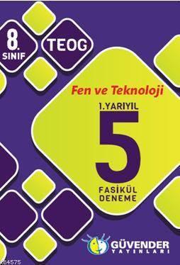 8.Sınıf Fen Ve Teknoloji 1.Yarıyıl 5 Fasikül Deneme