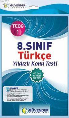 8. Sınıf TEOG 1 Türkçe Yıldızlı Konu Testi