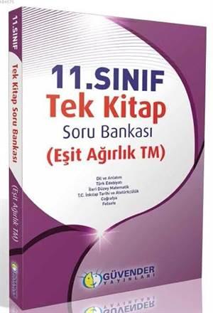11. Sınıf Tek Kitap Eşit Ağırlık (TM) Soru Bankası