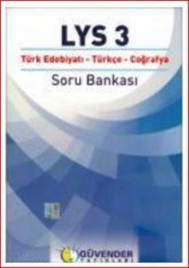 Güvender LYS 3 Türk Edebiyatı-Türkçe-Coğrafya Soru Bankası
