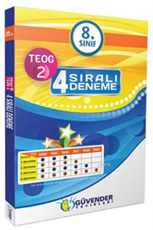 8. Sınıf TEOG-2 4 Sıralı Deneme Seti
