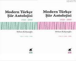 Modern Türkçe Şiir Antolojisi 2 Cilt Bir Arada Cilt 1/1920–1960   Cilt 2/1960–2000