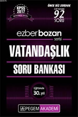 KPSS Ezberbozan Vatandaşlık Soru Bankası 2017