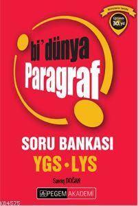 Ygs - Lys Bi'Dünya Paragraf Soru Bankası 2016