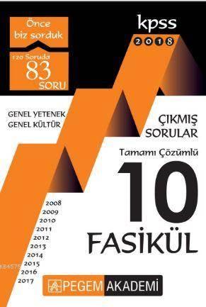 2018 KPSS Genel Ye ...