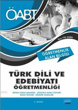 Öğretmenlik Alan Bilgisi - ÖABT Türk Dili Ve Edebiyatı Öğretmenliği