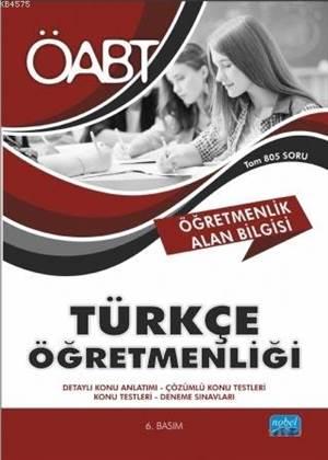 ÖABT Türkçe Öğretmenliği - Öğretmenlik Alan Bilgisi