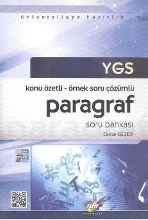 YGS Paragraf Soru Bankası; Konu Özetli - Örnek Soru Çözümlü