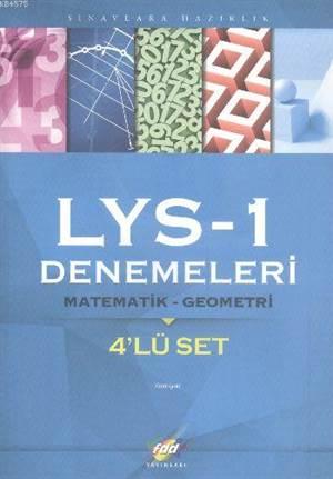 FDD LYS-1 Denemeleri Matematik-Geometri 4'lü Set