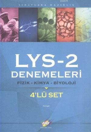 FDD LYS-2 Denemeleri Fizik-Kimya-Biyoloji 4'lü Set