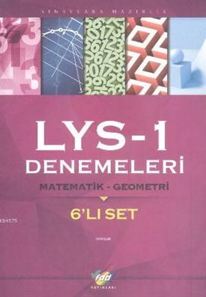 FDD LYS-1 Denemeleri Matematik-Geometri 6'lı Set