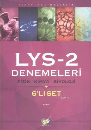 FDD LYS-2 Denemeleri Fizik-Kimya-Biyoloji 6'lı Set