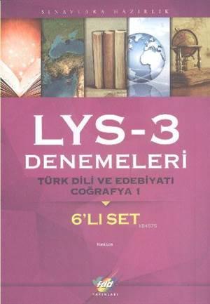 FDD LYS-3 Denemeleri Türk Dili ve Edebiyatı-Coğrafya-1 6'lı Set