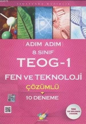 Fdd 8. Sınıf Adım Adım Teog-1 Fen Ve Teknoloji Çözümlü 10 Deneme