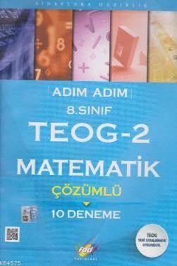 8.Sınıf TEOG-2 Matematik Çözümlü 10 Deneme