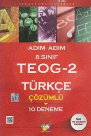 8.Sınıf TEOG-2 Türkçe Çözümlü 10 Deneme