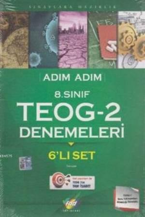 Adım Adım 8.Sınıf Teog-2 Denemeleri 6'lı Set