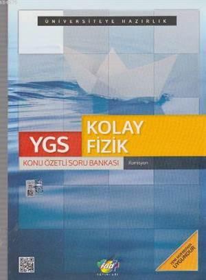 FDD YGS Kolay Fizik Konu Özetli Soru Bankası