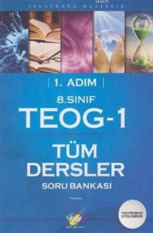 1.Adım 8.Sınıf TEOG-1 Tüm Dersler Soru Bankası