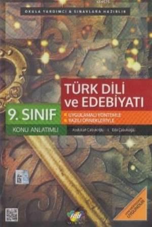 9.Sınıf Türk Dili Ve Edebiyatı Konu Anlatımlı