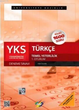 YKS Türkçe 1. Oturum Deneme Sınavı