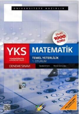 YKS Matematik 1. Oturum Deneme Sınavı