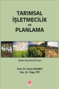 Tarımsal İşletmecilik Ve Planlama