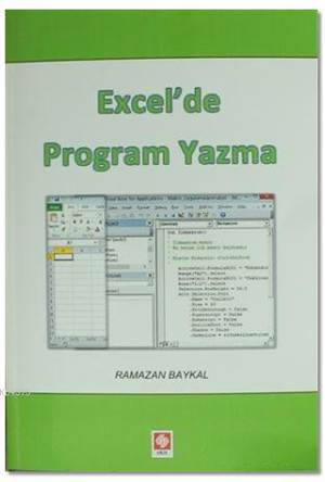 Excel'de Program Yazma