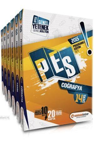 KPSS Genel Yetenek Genel Kültür PES (Programlı Eğitim Seti) Set; Konu Anlatımlı - 2015