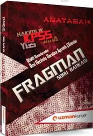 Kpss Fragman Anayasa Soru Bankası; (Tamamı Çözümlü)