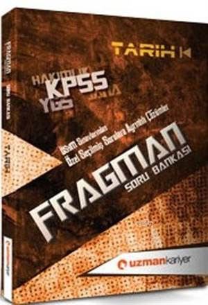 Kpss Fragman Tarih Soru Bankası; (Tamamı Çözümlü)