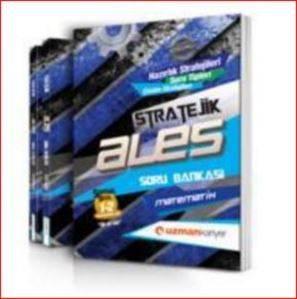 Stratejik ALES Çözümlü Mod. Soru Bankası Seti (Çözümlü) (3 Kitap)