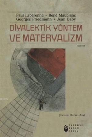 Diyalektik Yöntem<br/>Ve Materyalizm