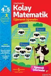 Çıkartmalarla Kolay Matematik 4-5 Yaş