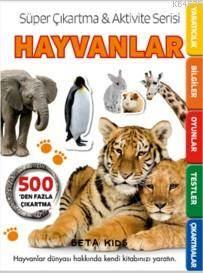 Süper Çıkartma & Aktivite Serisi - Hayvanlar