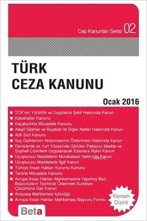 Türk Ceza Kanunu Cep 02-Ocak 2016 / Beta